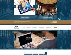 #35 for Design a Website Layout for Training company af sayedphp