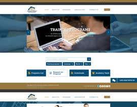 Nro 36 kilpailuun Design a Website Layout for Training company käyttäjältä sayedphp