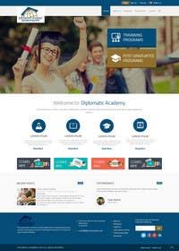 #25 cho Design a Website Layout for Training company bởi ankisethiya