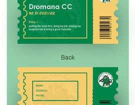 Nro 203 kilpailuun Business Card Design - Cricket Club käyttäjältä abdulhalimnuman7