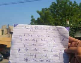 Nro 41 kilpailuun Write a Birthday Wish and Take a picture from your best place in town or country käyttäjältä xitral26
