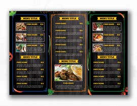 #91 cho Design a menu bởi glittergraphics