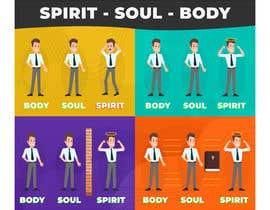 AronVane tarafından Spirit Soul Body Infographic için no 2