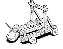 #28 para draw an image of a catapult de ronikane