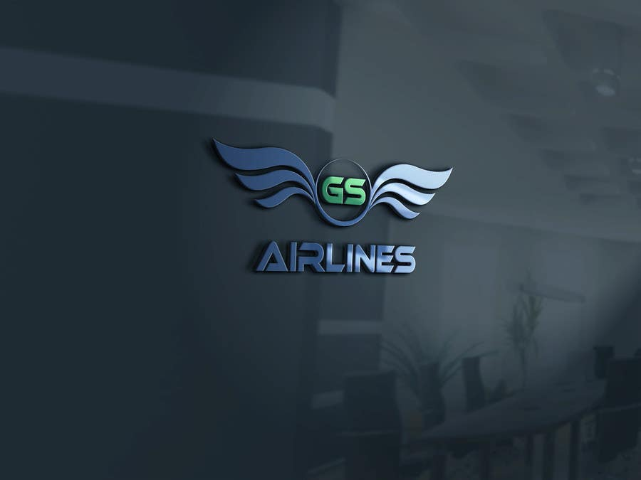 Konkurrenceindlæg #                                        34                                      for                                         Logo Design for a Fictitious Airline