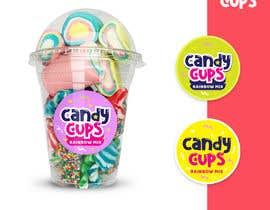 #345 para Design a brand for Candy Cups por gustiadhami