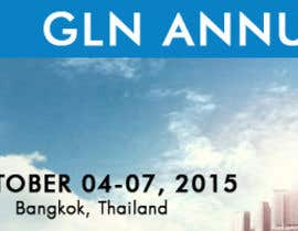 #36 untuk Design a Banner for 2015 Conference for Global Logistics Network oleh arsalanfatani