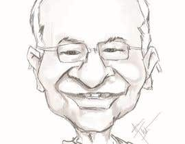#19 untuk Need a caricature/sketch/artistic variation for a notable person who passed away recently. oleh Denisdean