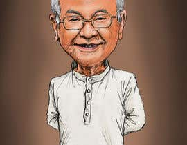 #16 untuk Need a caricature/sketch/artistic variation for a notable person who passed away recently. oleh Suhendrilie