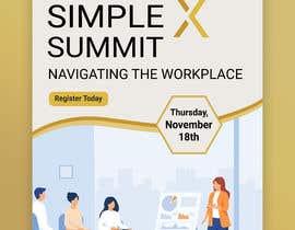 #60 untuk Flyer for a virtual summit oleh MdHumayun0747