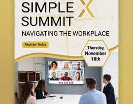 #61 untuk Flyer for a virtual summit oleh MdHumayun0747