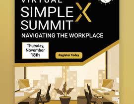 #68 untuk Flyer for a virtual summit oleh MdHumayun0747