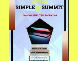 #70 untuk Flyer for a virtual summit oleh Mehedi662