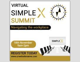 monower032 tarafından Make a flyer for a virtual summit için no 122