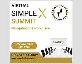 monower032 tarafından Make a flyer for a virtual summit için no 123