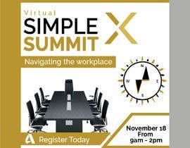 fatema4093 tarafından Make a flyer for a virtual summit için no 126