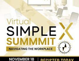danushkamdarts tarafından Make a flyer for a virtual summit için no 119