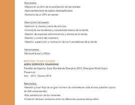 Nro 14 kilpailuun Persona hispano hablante con conocimientos en redacción y disponibilidad para trabajo continuado käyttäjältä IreneBR