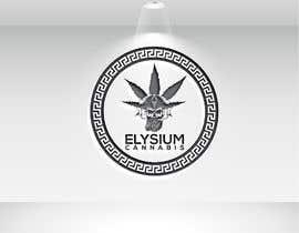 Nro 411 kilpailuun Elysium Cannabis Brand Logo käyttäjältä Nazrulstudio20