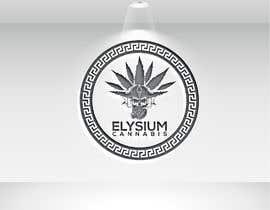 Nro 413 kilpailuun Elysium Cannabis Brand Logo käyttäjältä Nazrulstudio20