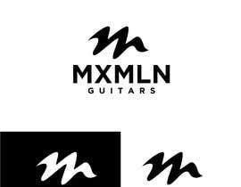 #448 para Logo for Custom Guitar Builder por CreativeShamim