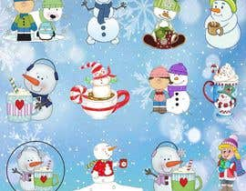 #10 untuk Christmas Clipart Pack -  Design Clipart from Scratch for my Stickers oleh tazmd3163