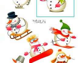 #14 untuk Christmas Clipart Pack -  Design Clipart from Scratch for my Stickers oleh instaicon
