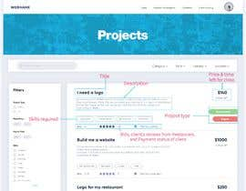 #61 untuk Redesign our project listing pages oleh arshmitsingh1