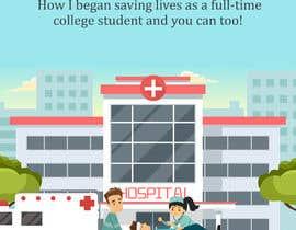 #56 untuk eBook Cover for Medical Book oleh miloroy13