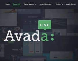 #5 for Create wordpress page on avada theme from .PSD provided - mobile version as well. by Shuvo444