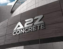 Nro 20 kilpailuun Logo for A2Z Concrete käyttäjältä nazmunit