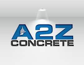 #287 untuk Logo for A2Z Concrete oleh Niamul24h