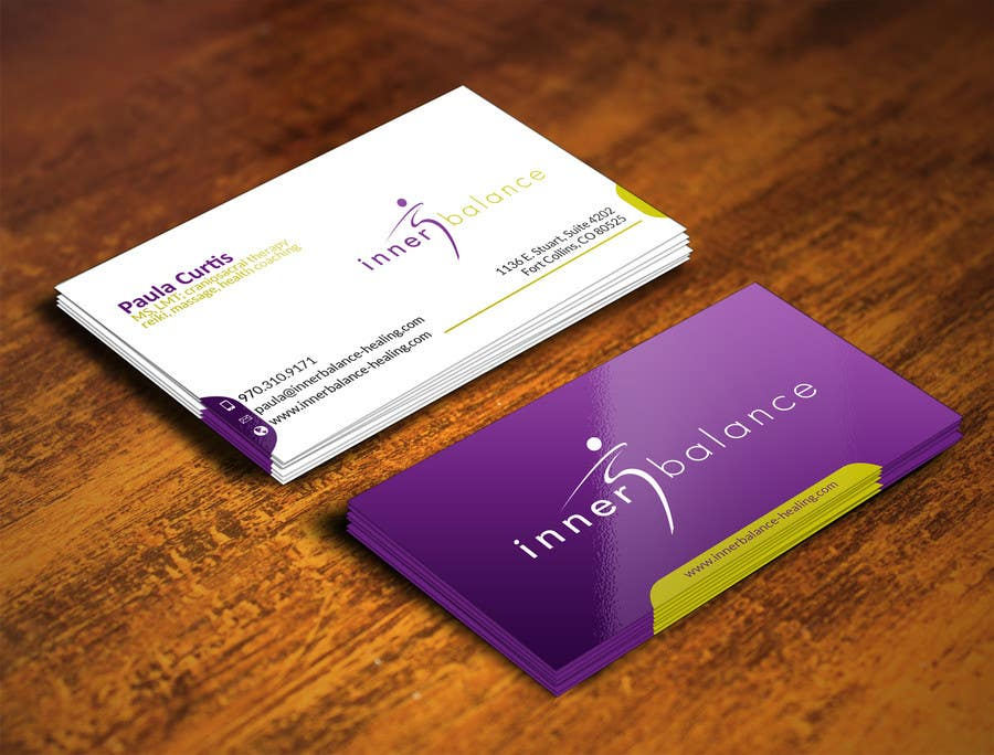 Contest Entry #                                        25                                      for                                         Design Some Business Cards for Therapeutic Massage Practice