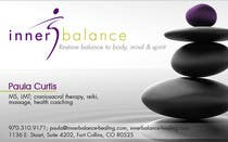 Graphic Design Contest Entry #6 for Design Some Business Cards for Therapeutic Massage Practice