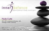 Graphic Design Entri Peraduan #6 for Design Some Business Cards for Therapeutic Massage Practice