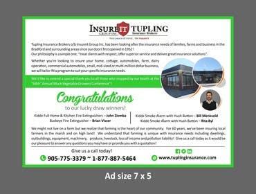 Nro 8 kilpailuun Design an Advertisement for Insuracne Company käyttäjältä artworker512