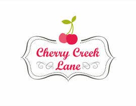 #48 para Design a Logo for an online retail shop called Cherry Creek Lane por violasziky