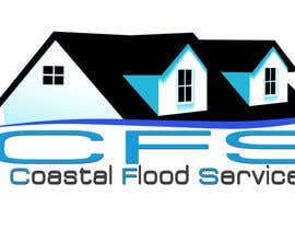 #71 untuk Design a Logo for Coastal Flood Services LLC oleh alidicera