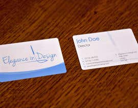 #69 para Design a Logo for Elegance in Design, LLC por Lozenger