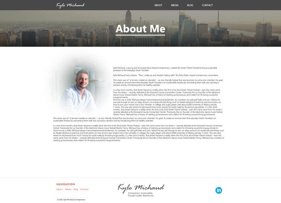 Proposition n°                                        7                                      du concours                                         Design & Code Personal Website