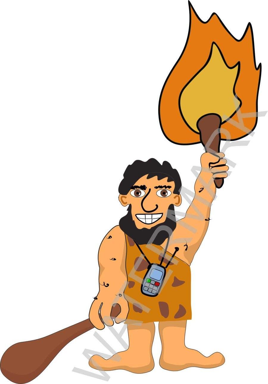 Kilpailutyö #19 kilpailussa Draw a Caveman (who is a businessman)