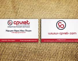 #131 para Design some Business Cards for CPVIET por sankalp