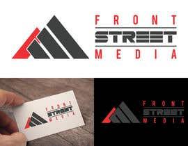 """#239 para Design a Logo for """"Front Street Media"""" por RebelliousDesign"""