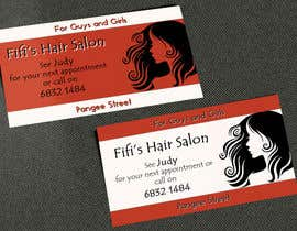 #24 untuk Design some Business Cards for hair dressing salon oleh AlexTV