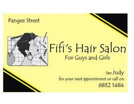 #30 untuk Design some Business Cards for hair dressing salon oleh Shrey0017
