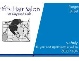 #37 untuk Design some Business Cards for hair dressing salon oleh Shrey0017
