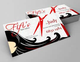 #15 untuk Design some Business Cards for hair dressing salon oleh fny2works
