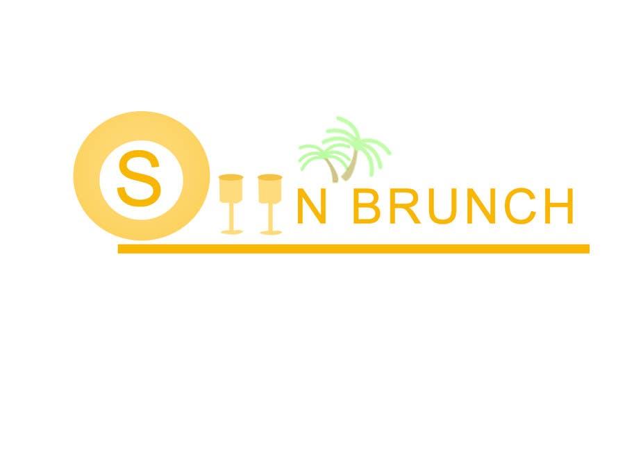 #35 for Logo design for Sunbrunch by spandey90