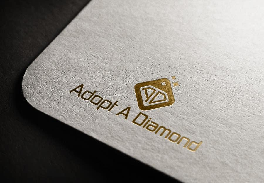 Konkurrenceindlæg #                                        90                                      for                                         Design a Logo for Diamond Ring Website