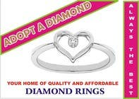 Graphic Design Contest Entry #3 for Design a Logo for Diamond Ring Website